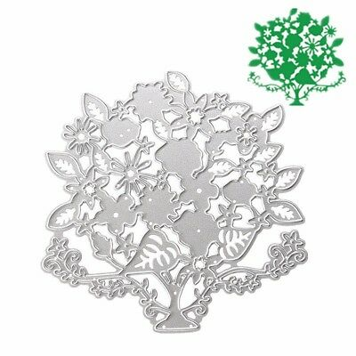 Flower Tree Metal Cutting Dies Stencils Memory Scrapbook Album Paper Card  ES