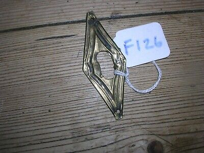 Antique Brass  Escutcheon (F126)