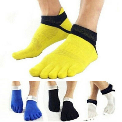 IOMI Mens and Ladies Lightweight Cotton Five Toe Socks For Athletes Foot