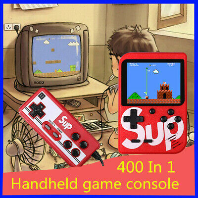 SUP 8 Bit handheld game console portable video gaming machine 400 classic games