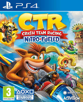 Crash Team Racing Nitro-Fueled Ps4 Eu Playstation 4 Italiano Bandicoot Kart