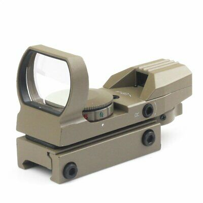 AU Holographic 4 Reticle Red/Green Dot Tactical Reflex Sight Scope