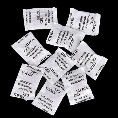 10 Bags Silica Gel Drying Agent Color Change Hearing Aid Camera Drying 1g/bag Ht