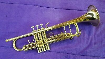 120665 / Bach built . Buescher 400 Trumpet  with New Leadpipe and Tuning Slide,