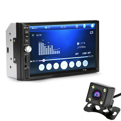 """Android 8.1 Double 2 Din 7""""Car FM MP5 Player Touch Screen Stereo Radio Bluetooth"""