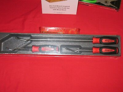 Snap On Soft Grip Instinct 3 -Pc Trim Pad Tool Set In Red Brand New