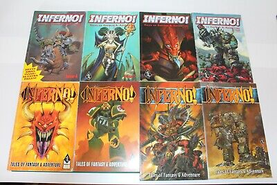 Inferno! Issues 4 5 6 7 9 14 17 18 Black Library Magazine Games Workshop