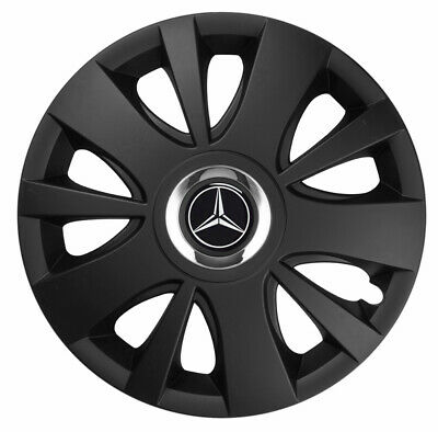 "4x16"" Wheel trims wheel covers for Mercedes Vito 16""  black"