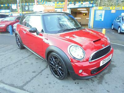 2011 11 Mini 1.6 Cooper S Chili Pack In Red And Black # Jcw Upgrade Alloys #