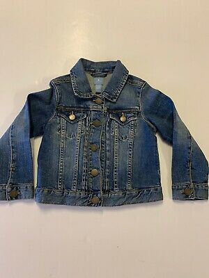 Baby Gap Jeans Jacket Boys Girls 4 Years