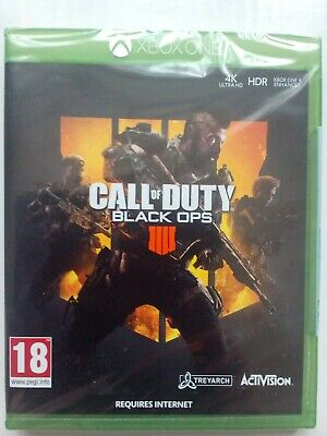 Call of Duty: Black Ops 4 (Xbox One)  BRAND NEW AND SEALED - 1st CLASS DELIVERY.