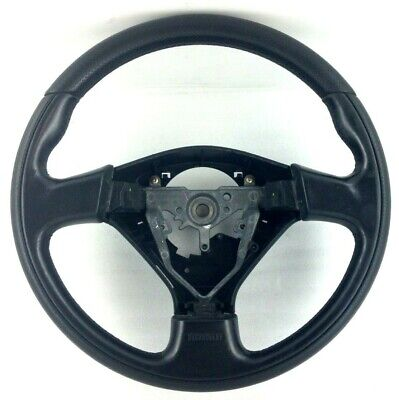 Genuine Momo black leather steering wheel. Subaru Impreza WRX STi .   3A