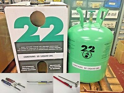 R22, Refrigerant Disposable Cylinder, 10 lb, Virgin R-22, Free Shipping, Kit A1