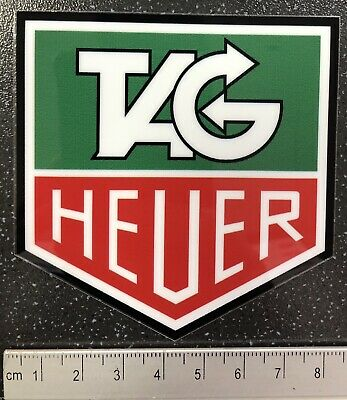 Genuine F1 Tag Heuer WINDOW Sticker Jenson Button Formula One McLaren
