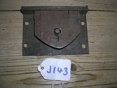 Antique Box Lock And Keep (J143)