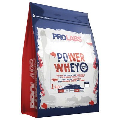 PROLABS POWER WHEY ULTRA BUSTA 1 KG Cookies & Cream