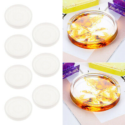 3sets round epoxy resin molds for diy coasters silicone jewelry making mould