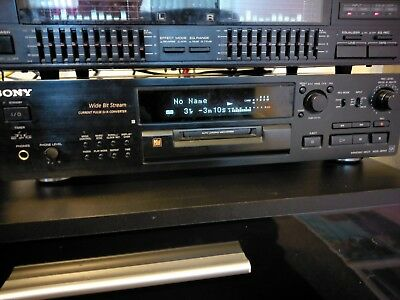 SONY MDS-JB920 QS Minidisc Player Only Home Cinema Hi-fi Separate Record Fault