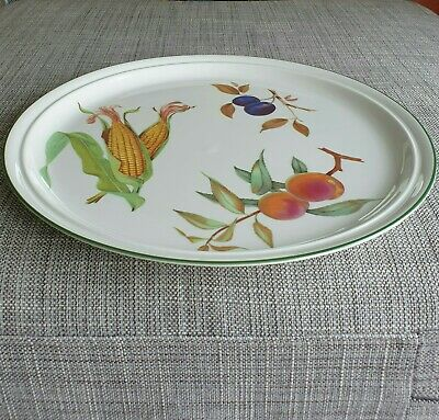 """Royal  Worcester *Evesham Vale* Large 13.5"""" Charger #Excellent Condition#"""