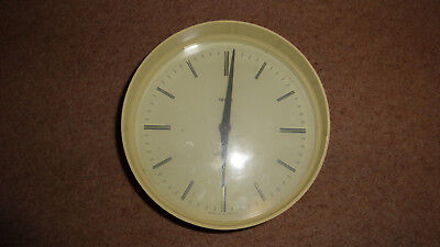 vintage retro smiths sectronic  wall clock