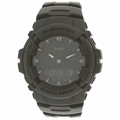 Casio Men's G Shock G100BB-1A Black Resin Japanese Quartz Sport Watch