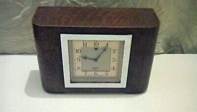 Smiths Sectric Art Deco Electric Mantel Clock