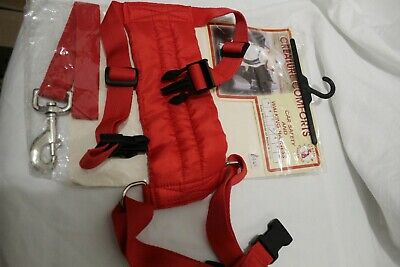 Padded Dog Car Safety & Walking Harness - By Creature Comforts Beagle,spaniel D
