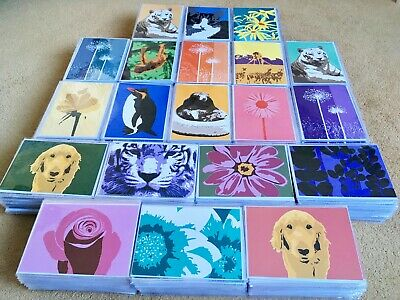 Job Lot - Wholesale Bundle 1000 Greetings Cards, individually wrapped, ex-stock