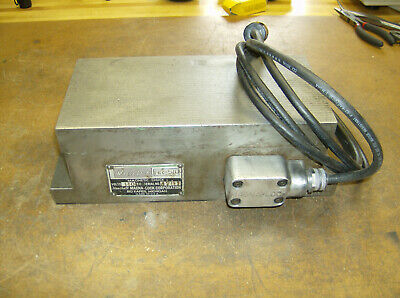"""Magna-Lock Electromagnetic 5""""x10.5"""" Chuck HR-510C Cleaned Refurbished & Tested"""