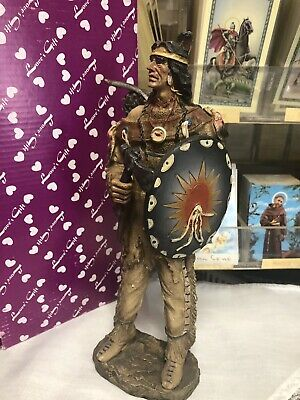 Native American INDIO CHIEF JEFE religion yoruba ifa santeria 10 Inches Indian
