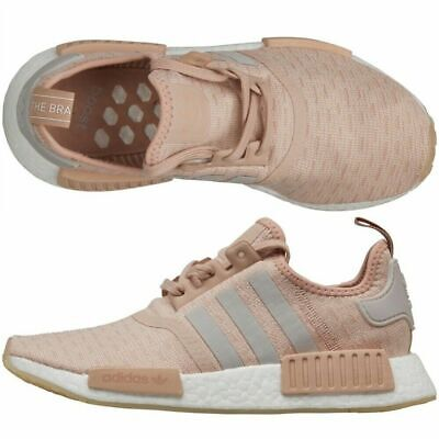 Adidas Originals NMD_R1 Womens Beige Brown White BB6366