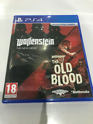 PS4 - Wolfenstein - The New Order & The Old Blood - Double Pack - Playstation 4