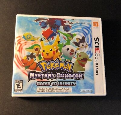 Pokemon Mystery Dungeon [ Gates to Infinity ] (3DS) USED