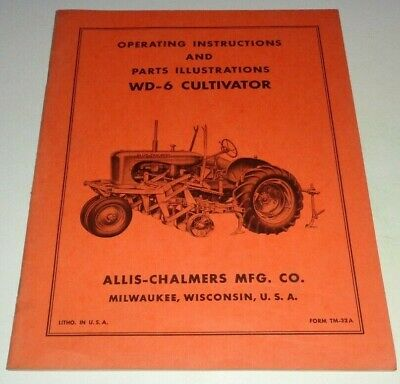 ALLIS CHALMERS WD Cultivator with WC conversion group
