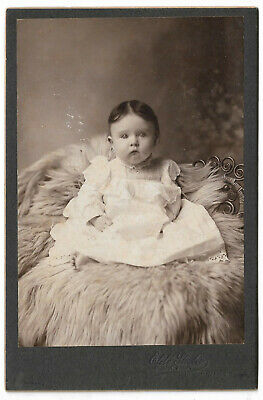 Southern State Cabinet Card Elite Studios  Meridian MS Cute Baby ID Bessie Smith