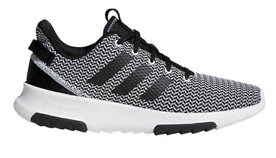 ADIDAS CF RACER TR Running Trainer Shoes Grey Black White ...