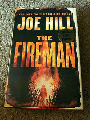 The Fireman SIGNED by Joe Hill Hardcover 1st Edition First Printing