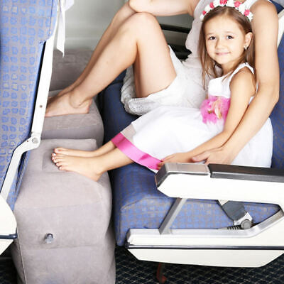 Inflatable Office Travel Footrest Leg Foot Rest Cushion Pillow Pad Kids