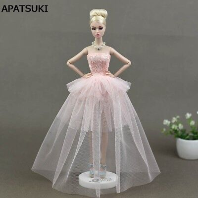 """Doll Accessories Lace Dress For 11.5"""" Doll Clothes Costume Multi-layer Dresses"""