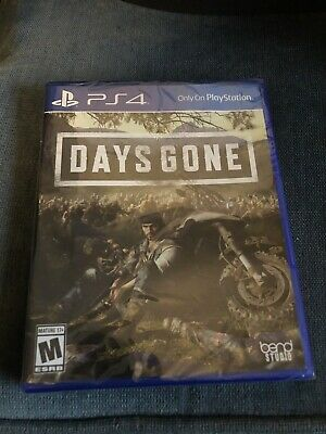 Days Gone (PS4 Exclusive) (2019) (Brand New)(Sealed)