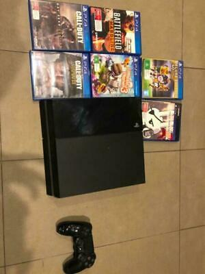 PS4 Console 500 gb 6 games 1 controller