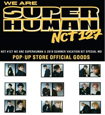 NCT 127 We Are Super human Photo Film Set SM TOWN Official Goods K-POP Photocard