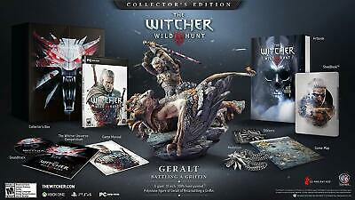 The Witcher 3 III Wild Hunt Collectors Edition PlayStation 4