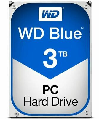 "WD Blue 3TB SATA3 64MB 3.5"" 5400RPM 6Gb/s 64MB Cache"