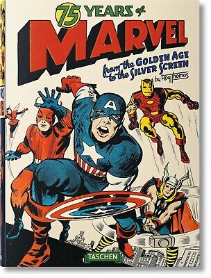 Taschen - 75 Years of MARVEL - Packing carton not wrapped. Book Factory sealed