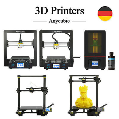EU ANYCUBIC I3 Mega-S Chiron Photon FDM LCD SLA Imprimante 3D Printer UV Resin