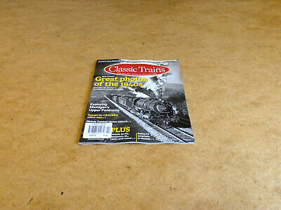 Classic Trains Summer 2019 Golden Years Of Railroading American Steam Trains