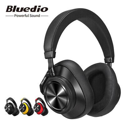 Bluedio T6S Bluetooth Headphones On Ear Noise cancelling Wireless Stereo Headset