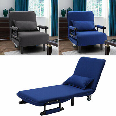 Astounding Folding Single Sofa Bed Recliner Armchair Lounge Tub Sofa Dailytribune Chair Design For Home Dailytribuneorg