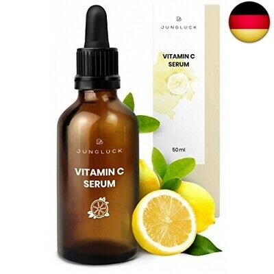 Junglück veganes Vitamin C Serum in Braunglas - Anti-Aging   (Vitamin C Serum)